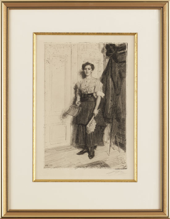 Anders Zorn The New Maid